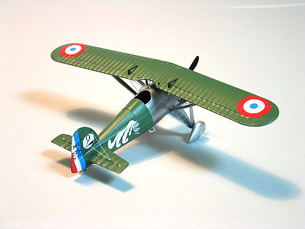 Armée de l'air française(French Air Force) Morane MS225 -3