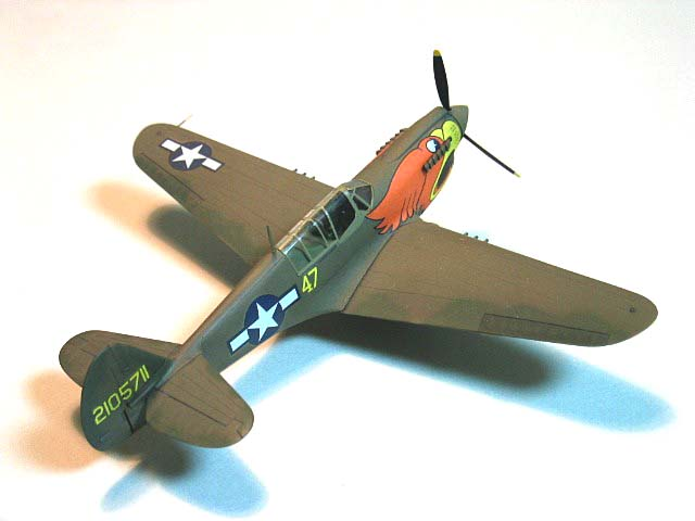 U.S. Army Curtiss P40N -3