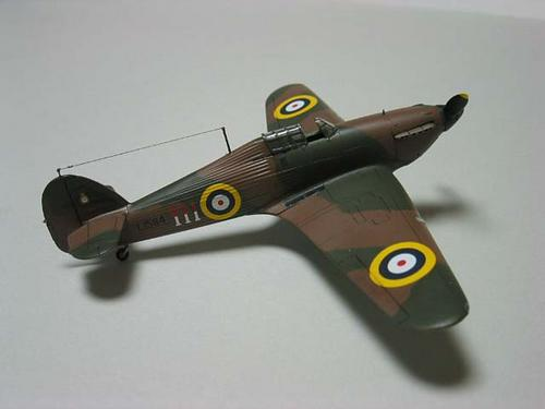 RAF Hawker Hurricane Mk.I (Early type) -2